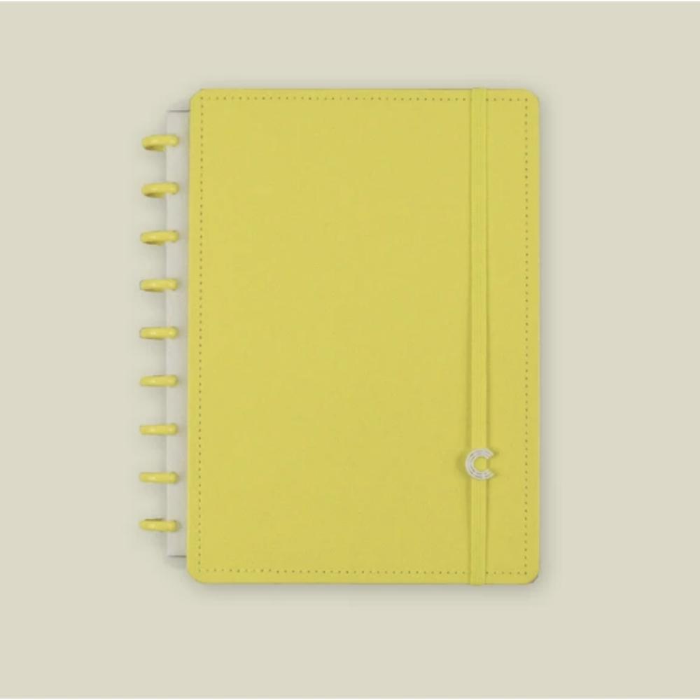 CADERNO INTELIGENTE Médio - Color - All Yellow - ML