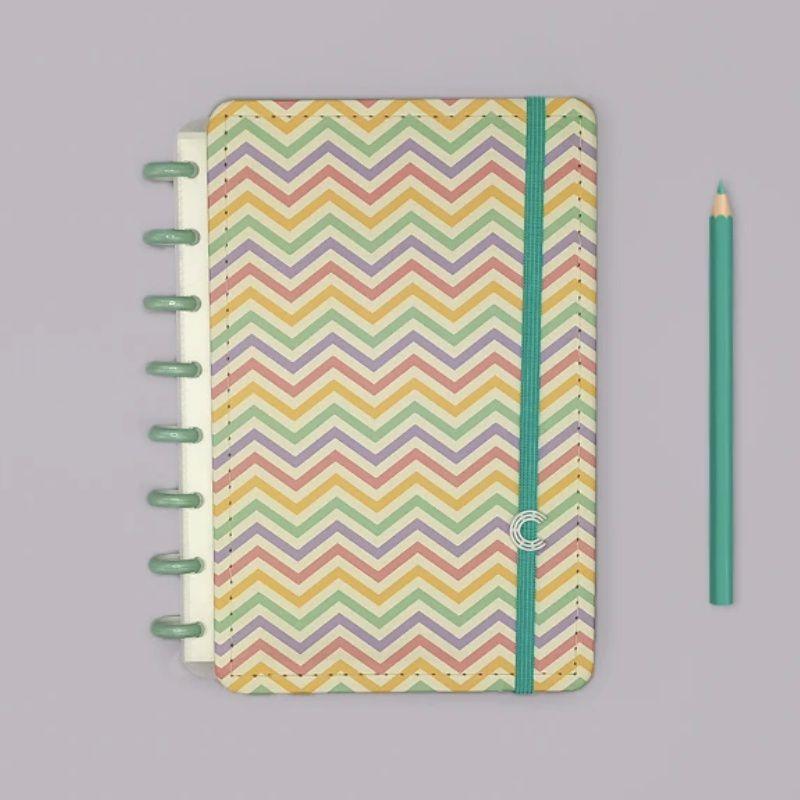 Caderno Inteligente Médio Popy + Refil de fls Pautado