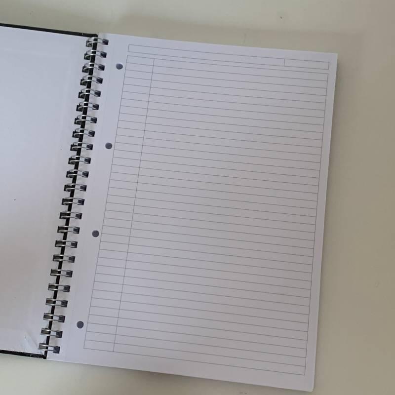 Caderno STANFORD Notebook 90g/m2 - Preto
