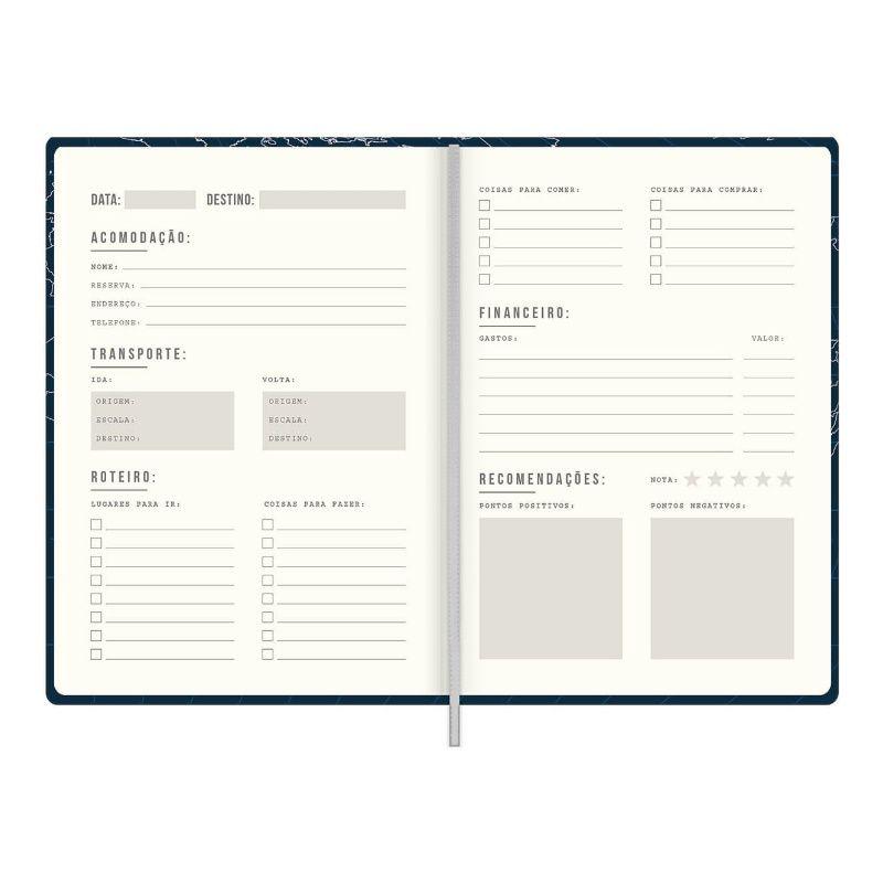 Caderno TILIBRA Diário de Viagem 103 x 146 mm