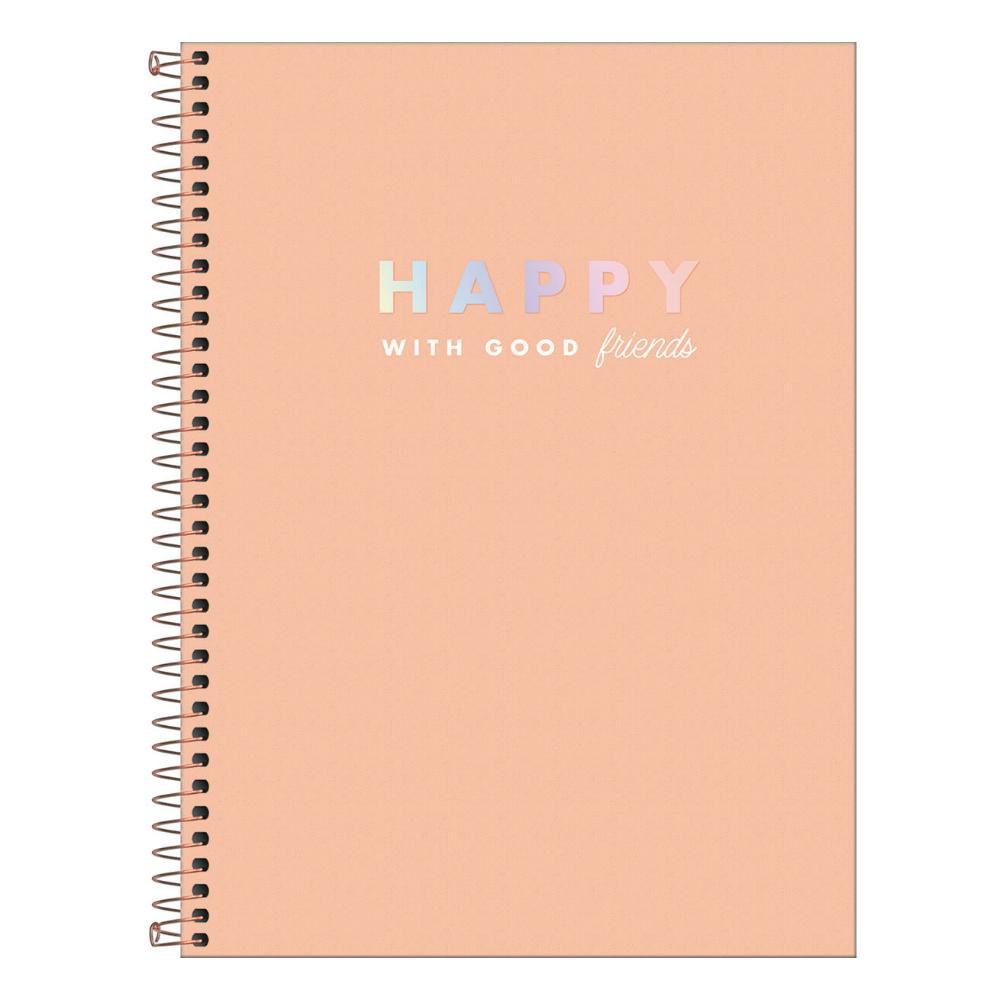 Caderno Universitário TILIBRA Happy - 12 Matéria c/ 192 Páginas