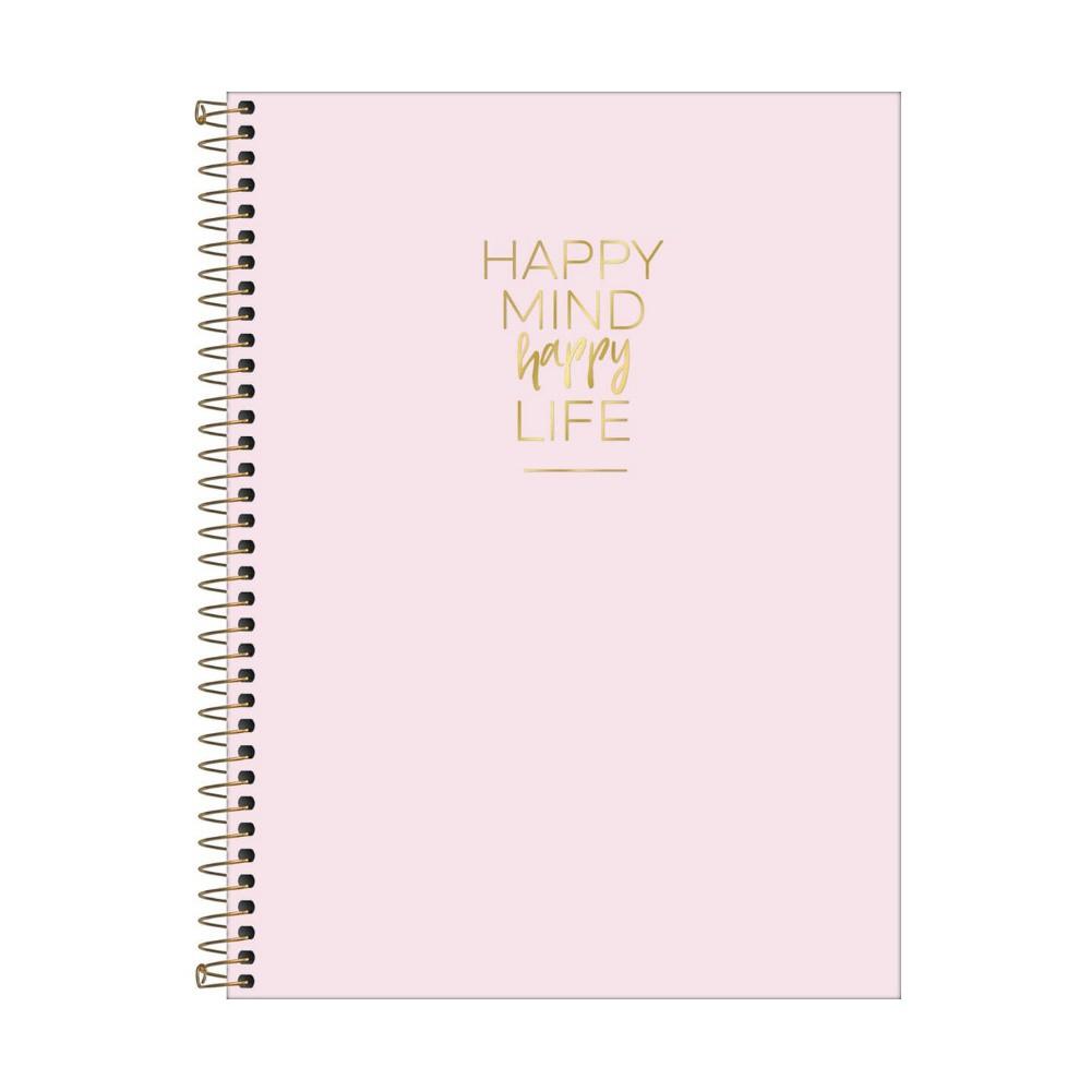 Caderno Universitário TILIBRA Happy - 1 Matéria c/ 80 Páginas