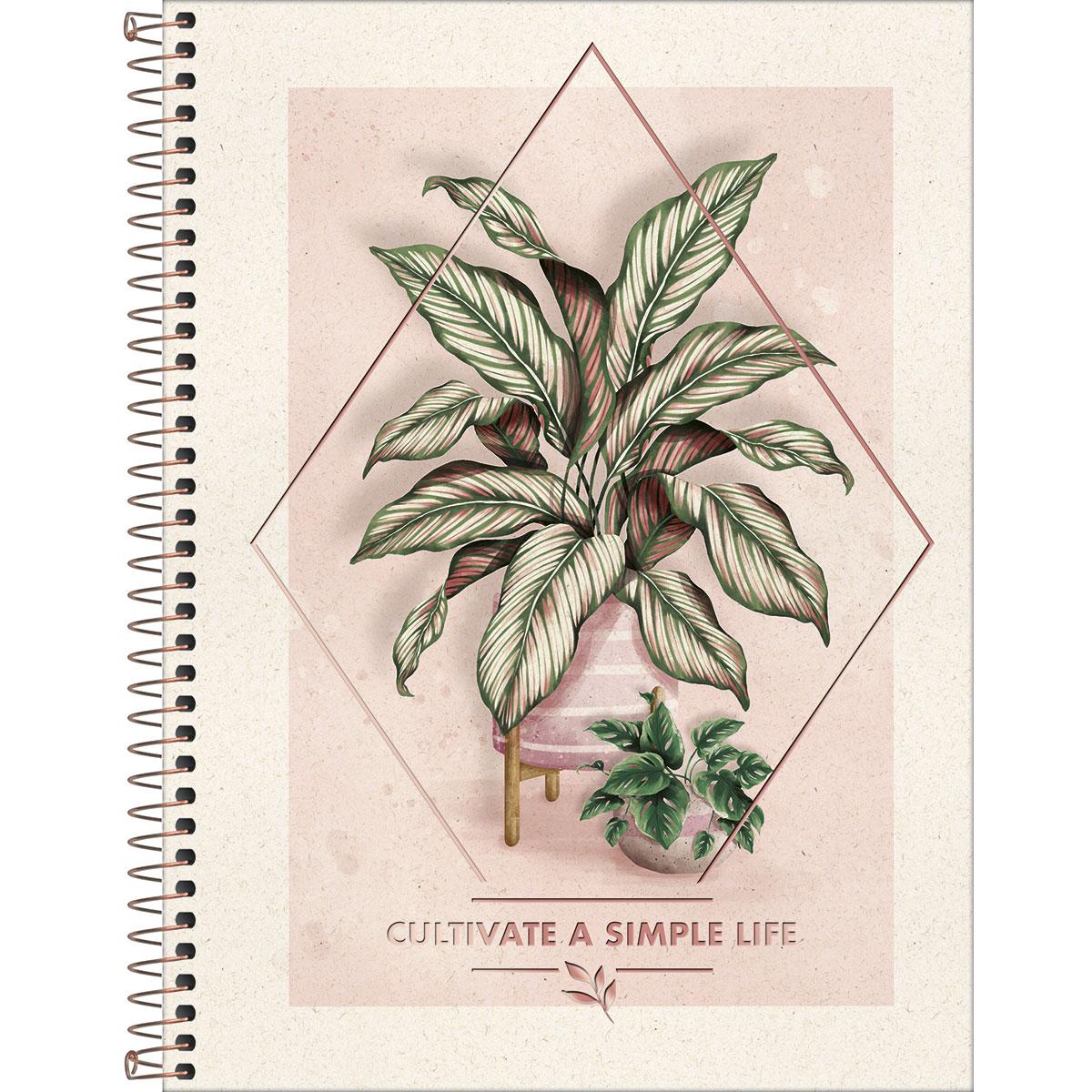 Caderno Universitário TILIBRA Naturalis - 10 Matéria c/ 160 Páginas