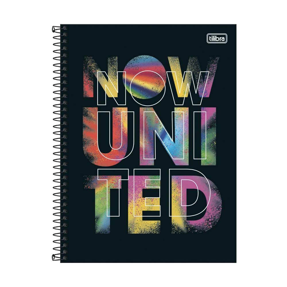Caderno Universitário TILIBRA Now United - 10 Matérias c/ 160 Páginas