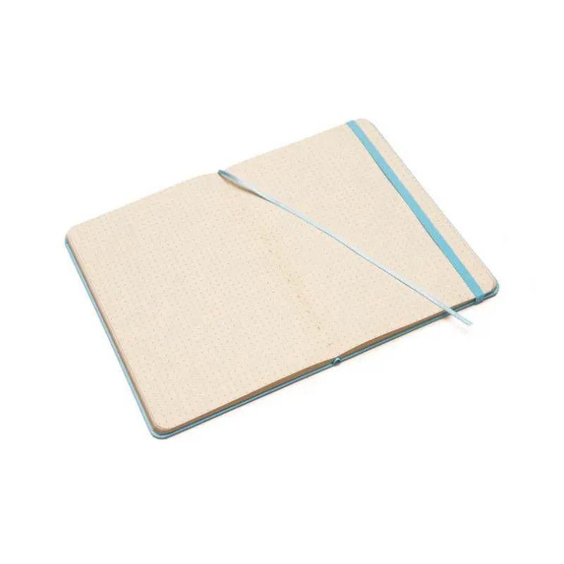 Caneta Brush Pen Koi (Cinza) + Caderneta Cícero Tons Pasteis (Azul)