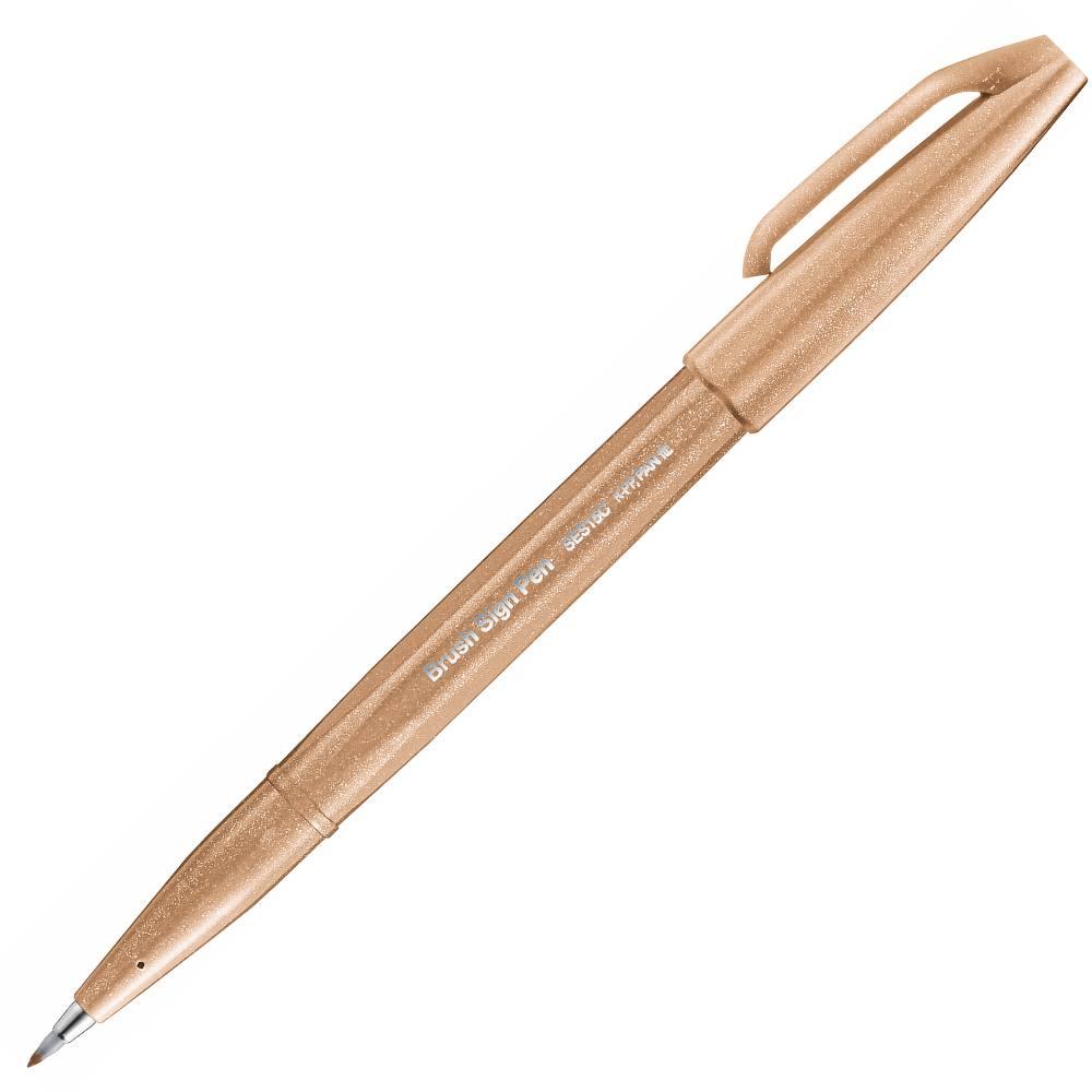 Caneta PENTEL Brush Sign Pen Touch - Novas Cores