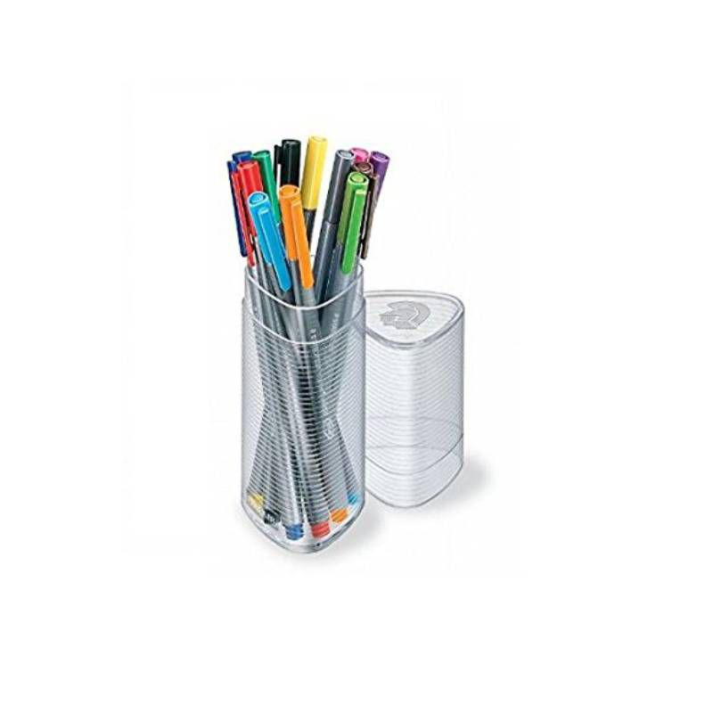 Caneta STAEDTLER Triplus Fineliner 334 Tubo c/ 12 Cores