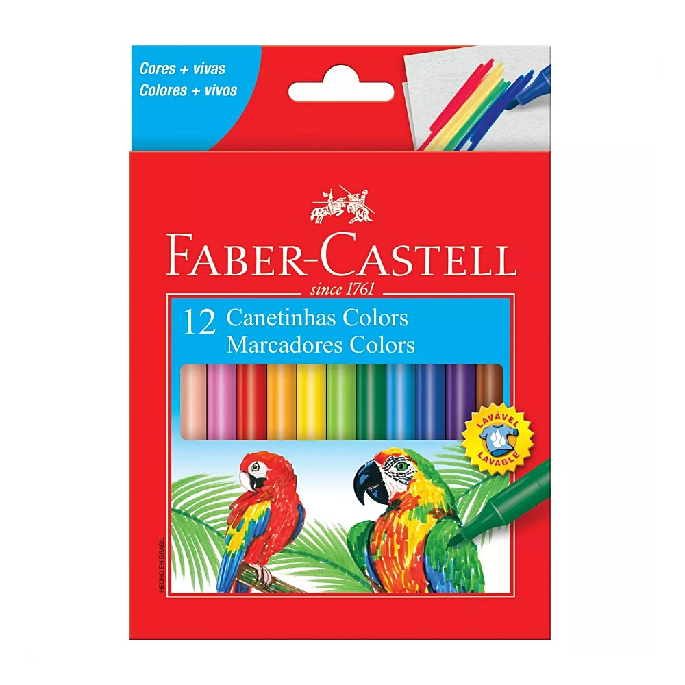 Canetinha FABER-CASTELL Colors