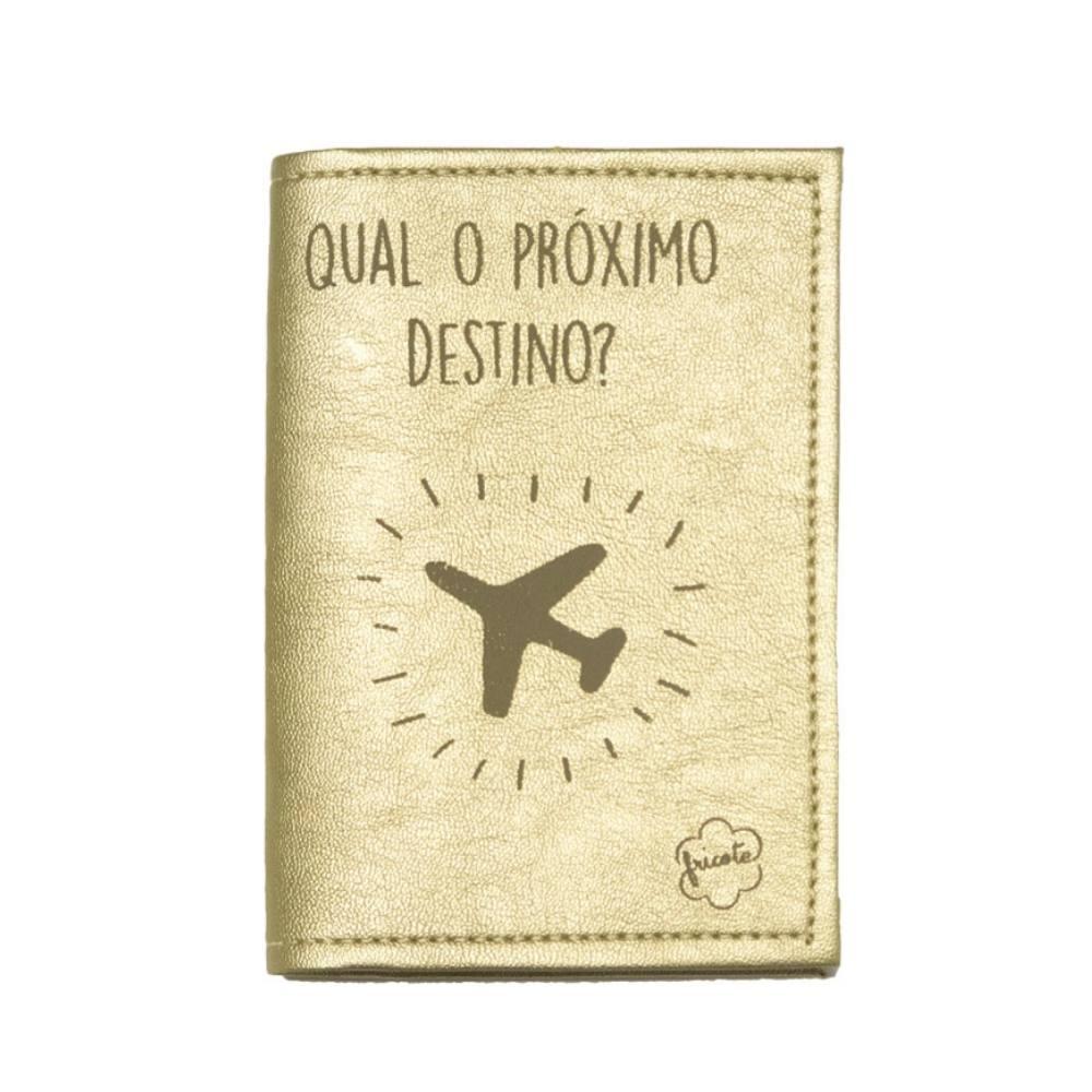 Capa Para Passaporte FRICOTE Chic