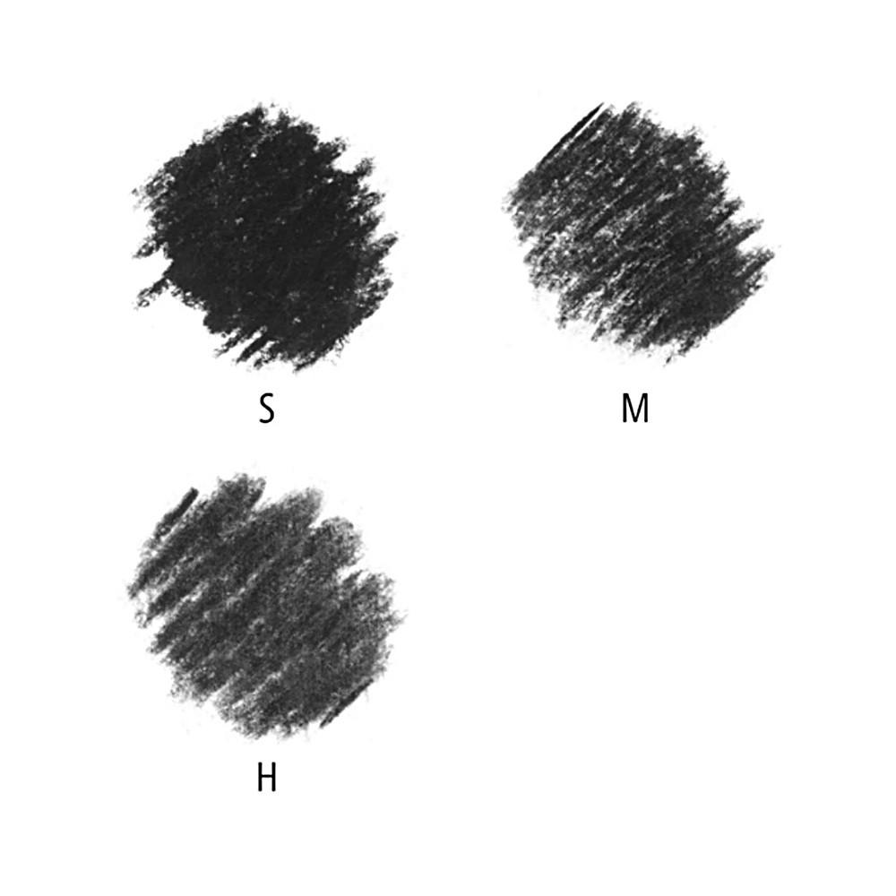Charcoal Lumograph STAEDTLER c/ 3 Unids