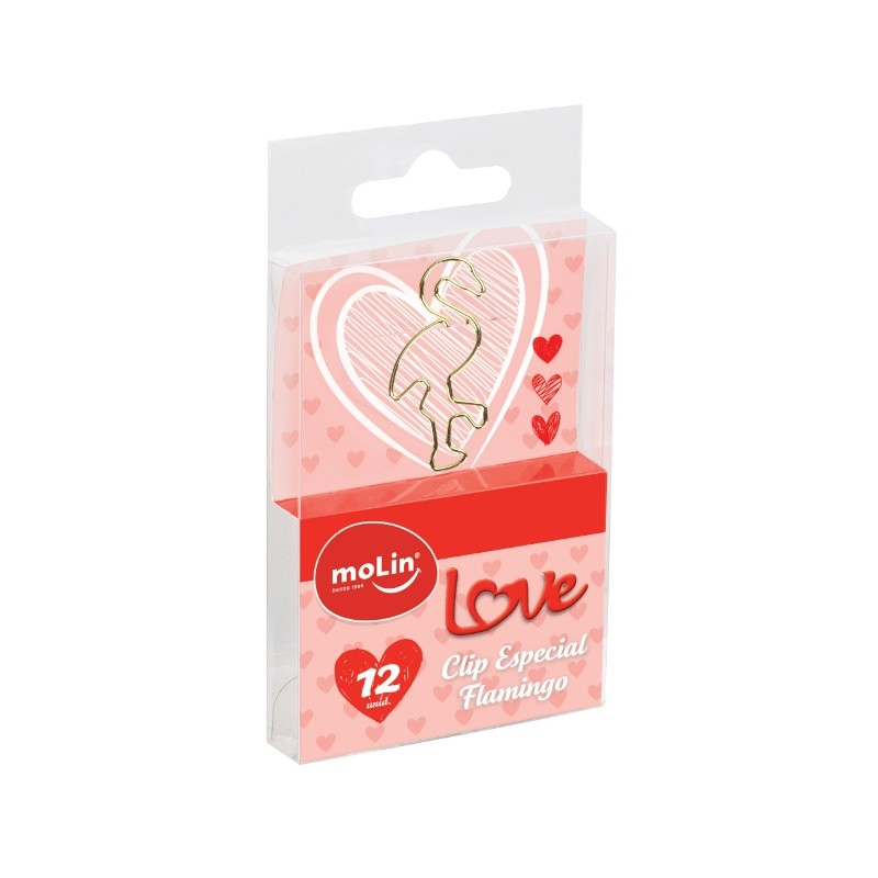 Clips Flamingo MOLIN c/ 12 Unids