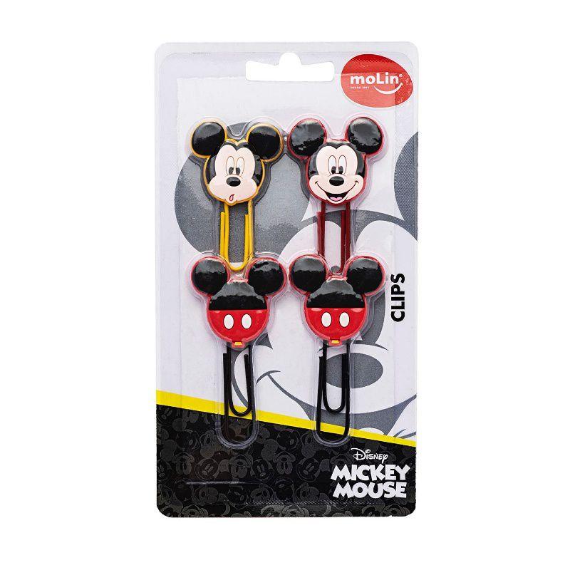 Clips Mickey MOLIN 50mm c/ 4 Unids