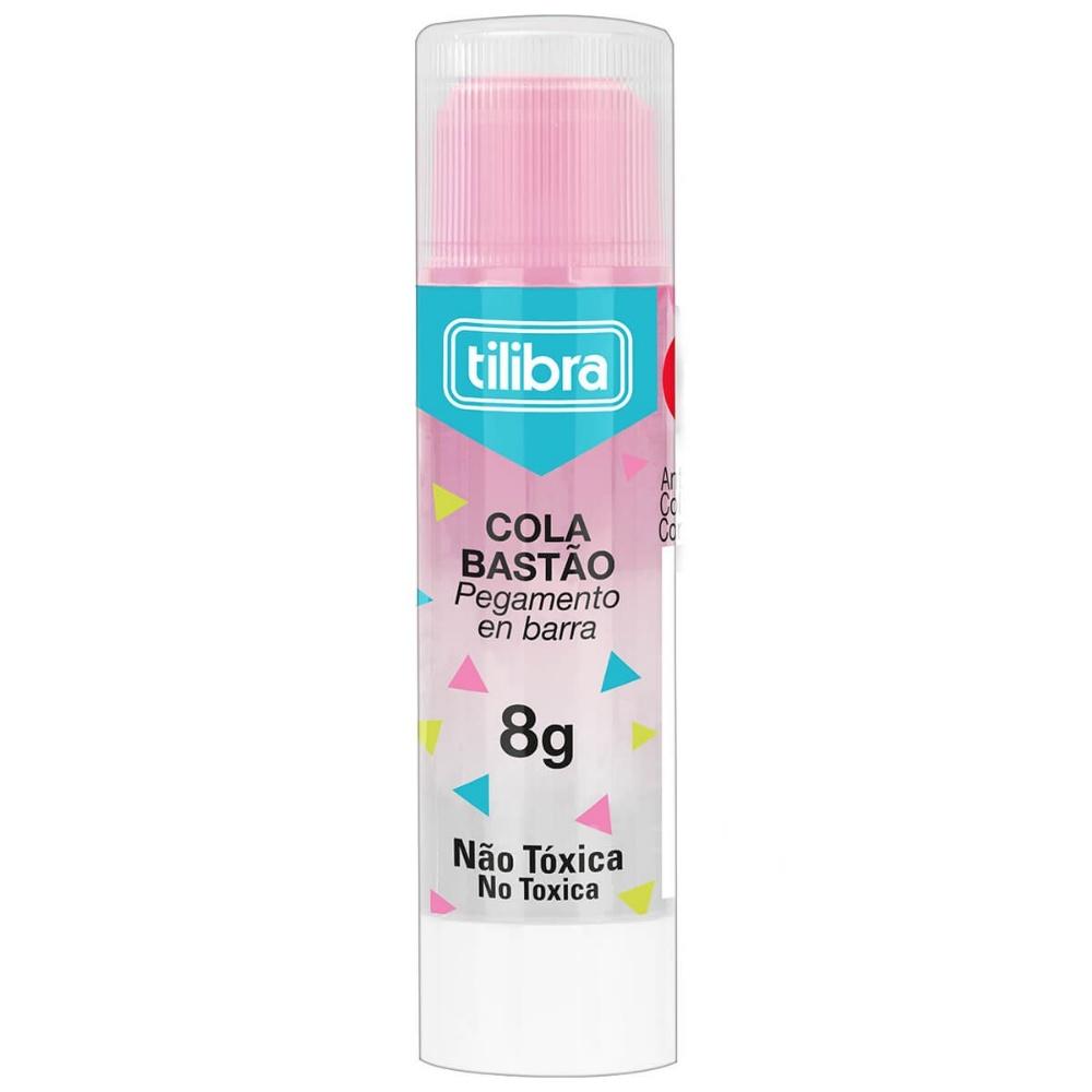 Cola Bastão TILIBRA 8g Transparente Colorida
