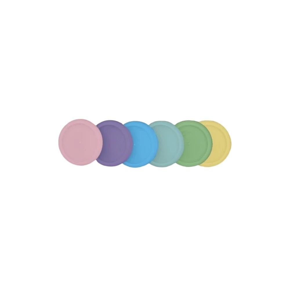 Discos + Elástico CADERNO INTELIGENTE Médio (23mm)