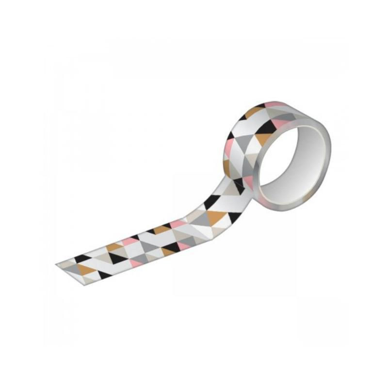 Fita Adesiva TILIBRA Washi Tape 15 mm x 10 m - Estampada