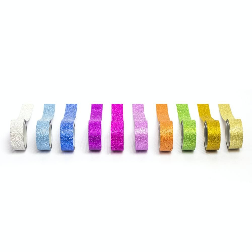 Fita Adesiva Washi Tape Glitter