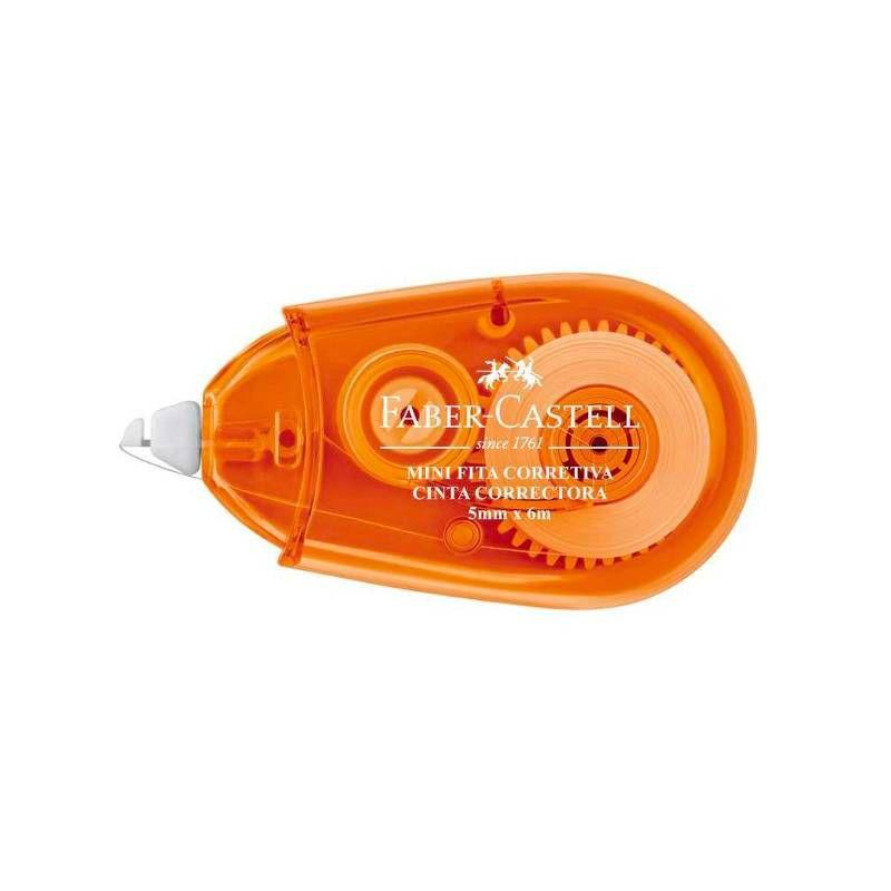 Fita Corretiva Mini FABER-CASTELL  (5 mm x 6 m)