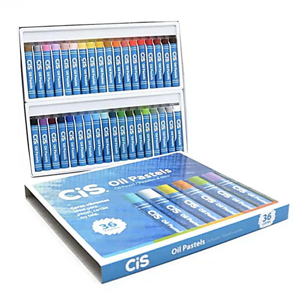 Giz CIS Pastel Oleoso  c/ 36 Cores