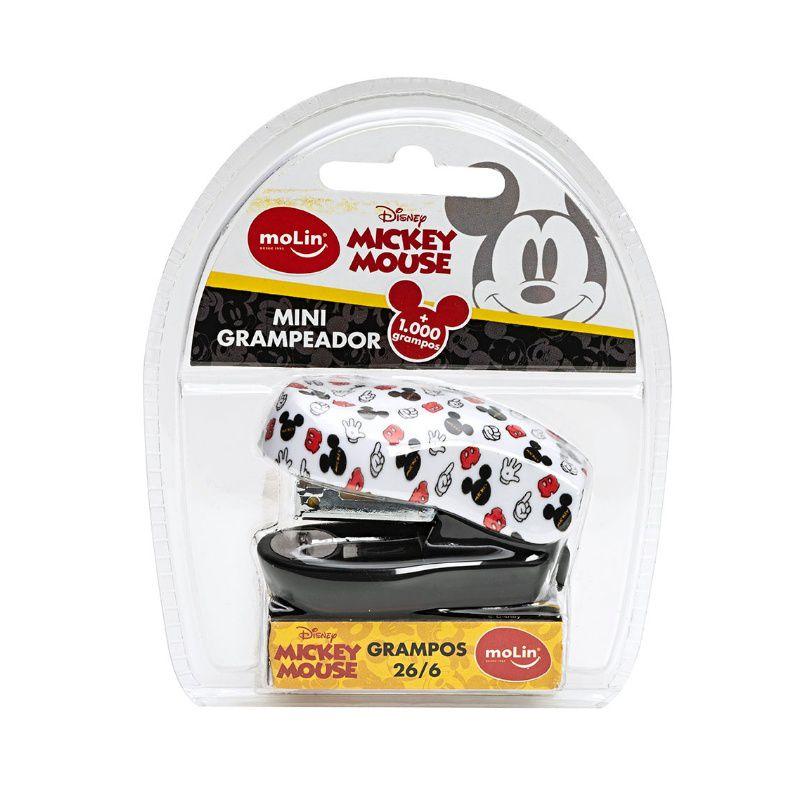 Grampeador Mini MOLIN Mickey + 1000 Grampos
