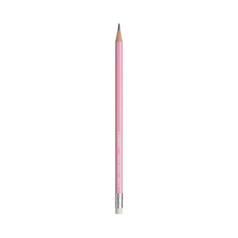 Kit Lápis Swano STABILO Pastel HB = Nº 2