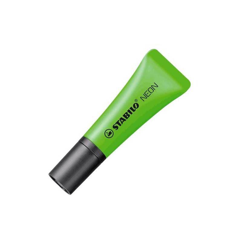 Kit Marca texto STABILO Neon c/ 4 unds