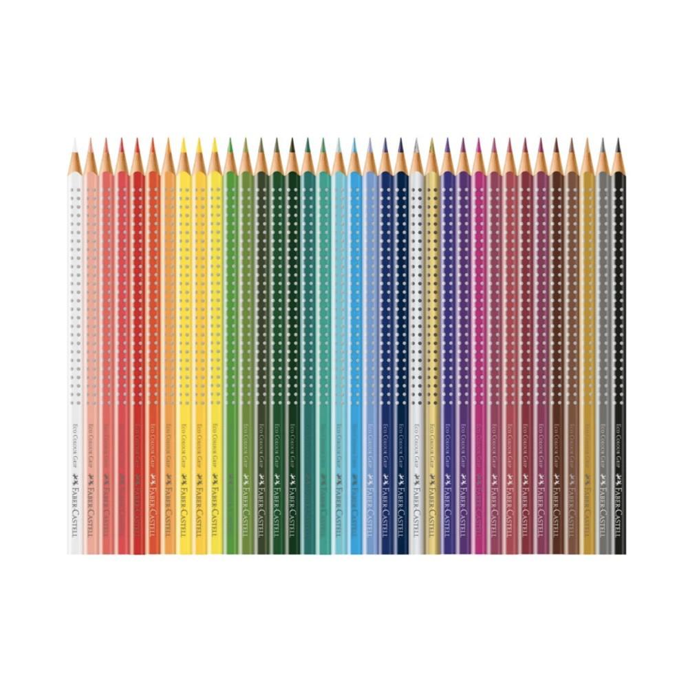 Lápis de Cor com Grip FABER-CASTELL c/ 36 Cores