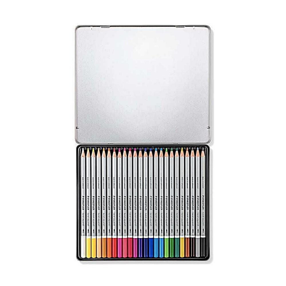 Lápis de Cor STAEDTLER Aquarelável Karat c/ 24 Cores