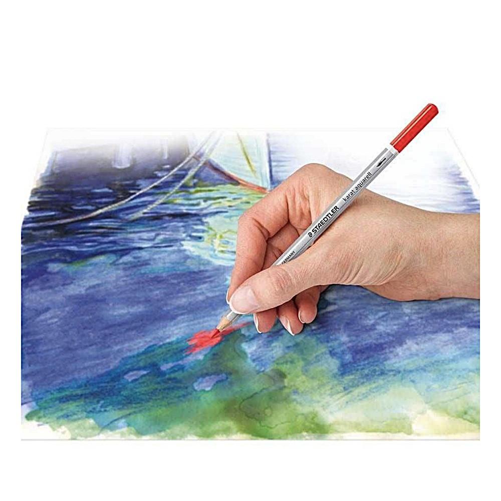 Lápis de Cor STAEDTLER Aquarelável Karat c/ 48 Cores