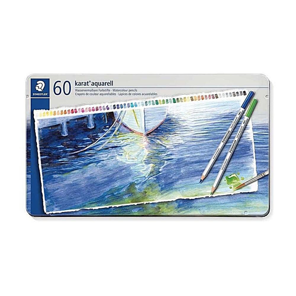 Lápis de Cor STAEDTLER Aquarelável Karat c/ 60 Cores