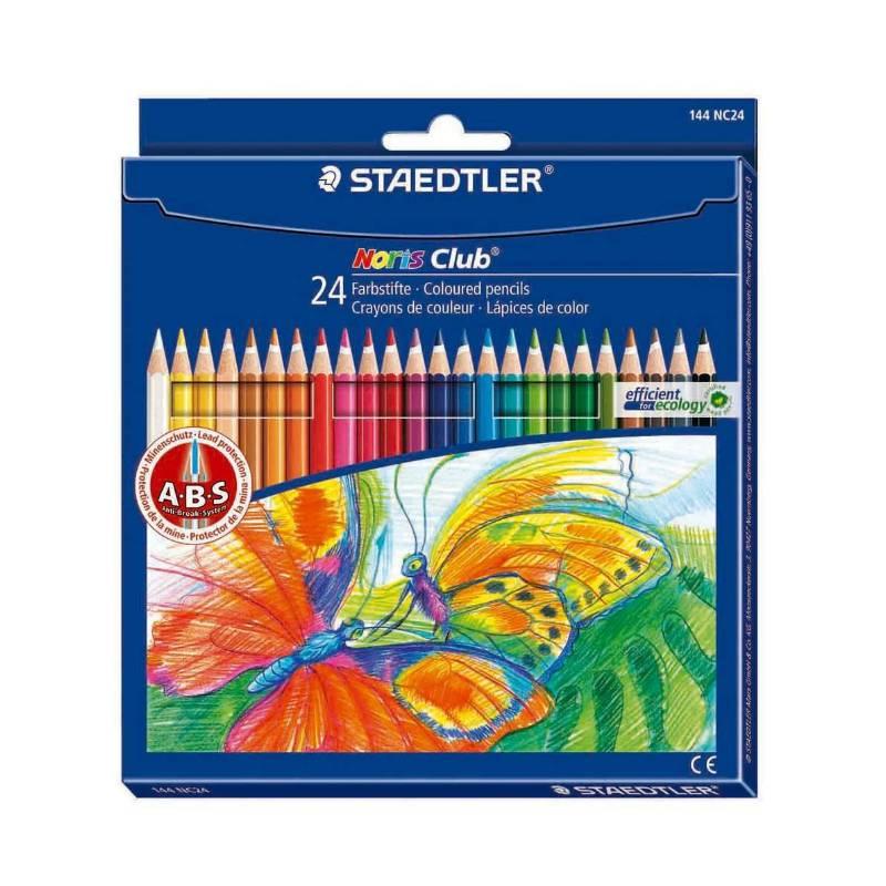 Lápis de Cor STAEDTLER Noris Club 24 cores
