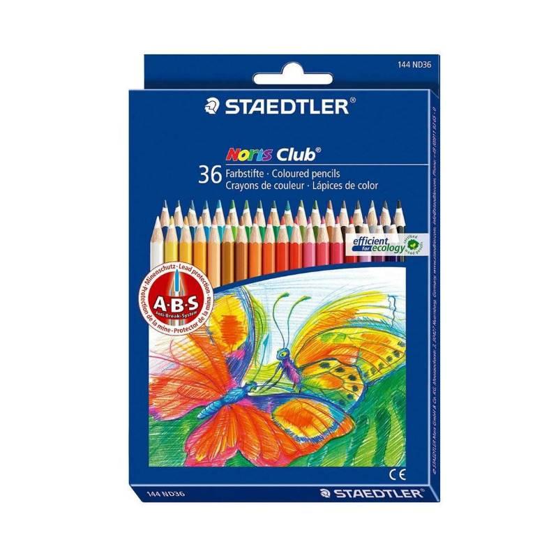Lápis de Cor STAEDTLER Noris Club 36 cores