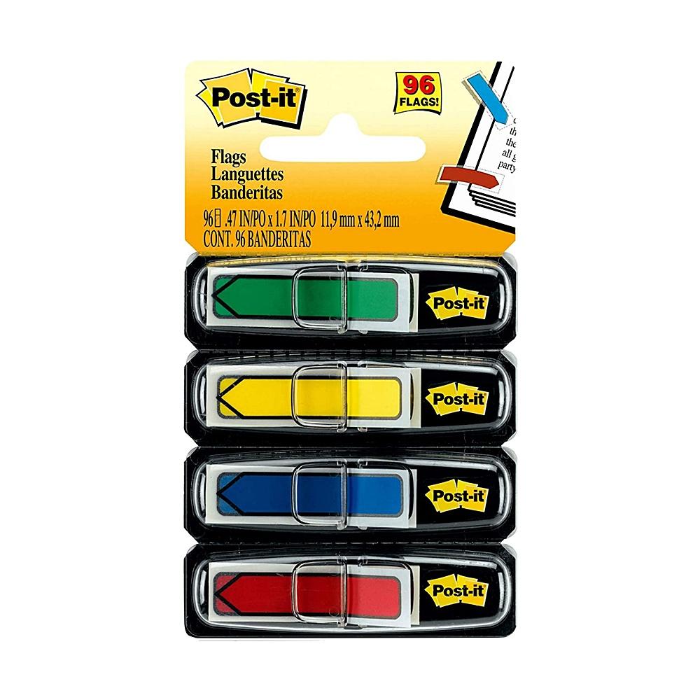 Marcador adesivo de Páginas Flags Post-It® 3M 11,9x43,2 mm