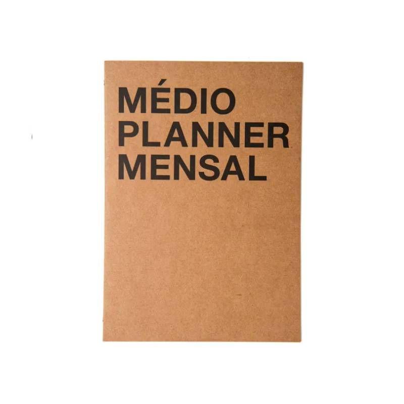 Médio Planner Mensal CÍCERO (Na Medida A4)