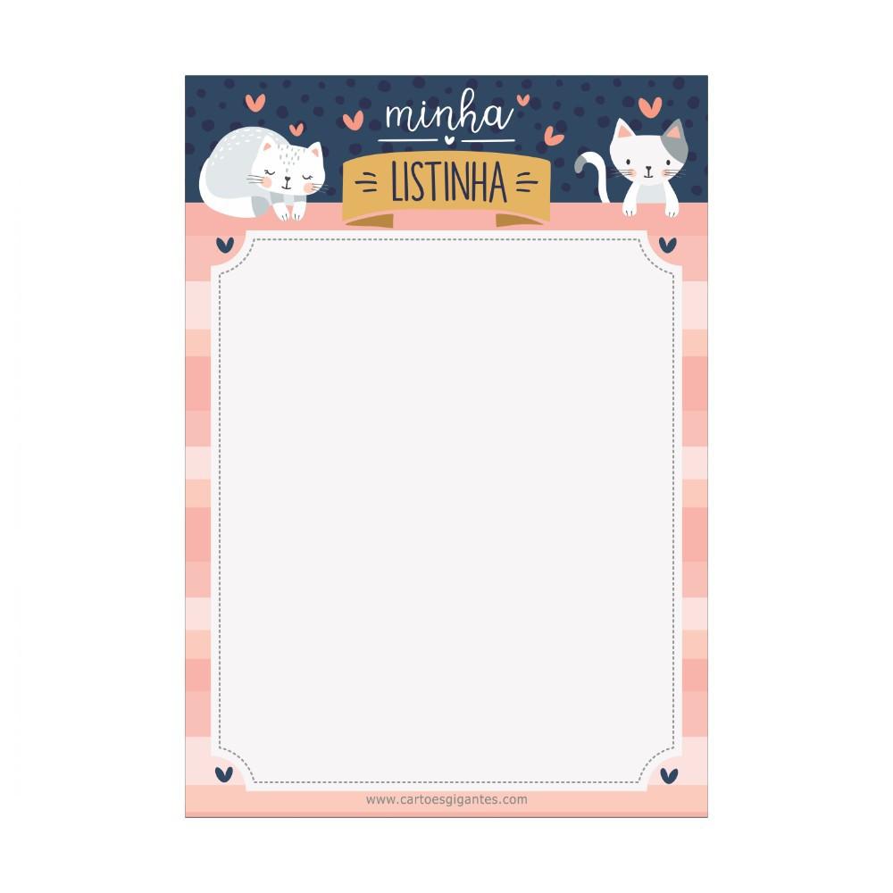 Memo Board CARTÕES GIGANTES 17x24