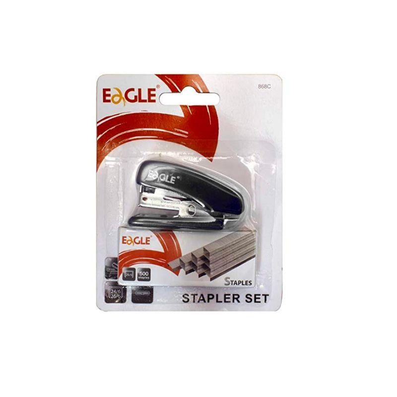 Mini Grampeador Eagle + 500 grampos Grátis