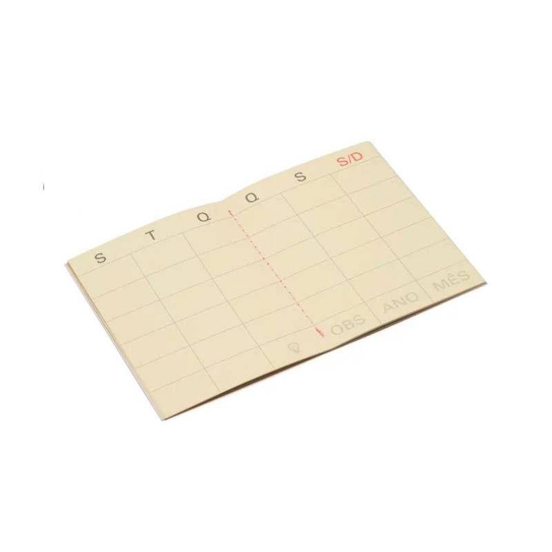 Mini Planner Mensal CÍCERO (Na Medida A6)