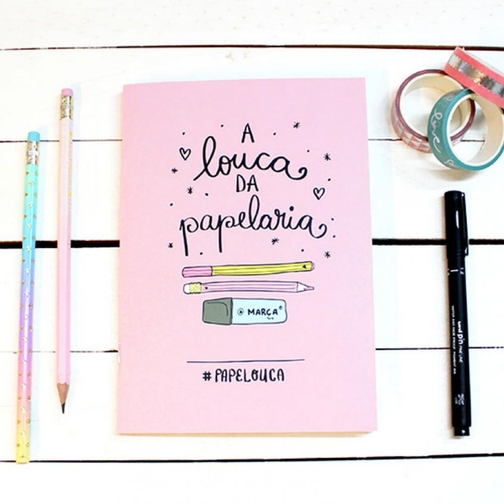 Papejournal Mini PAPELOTE Pautado c/ 80 Páginas