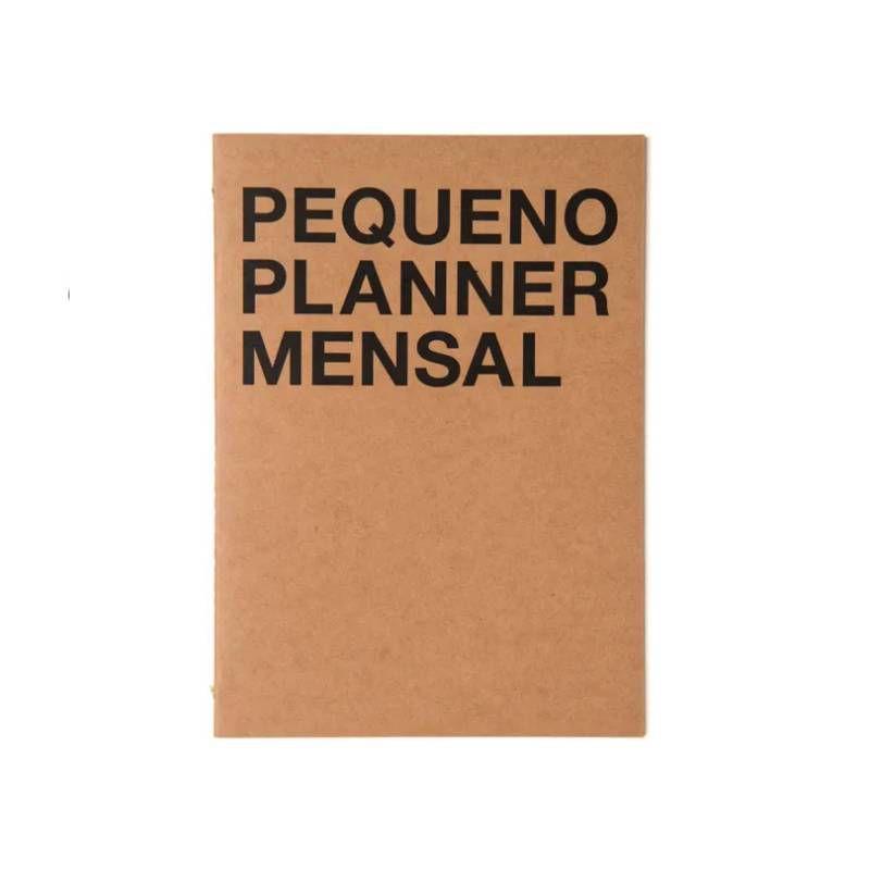 Pequeno Planner Mensal CÍCERO (Na Medida A5)
