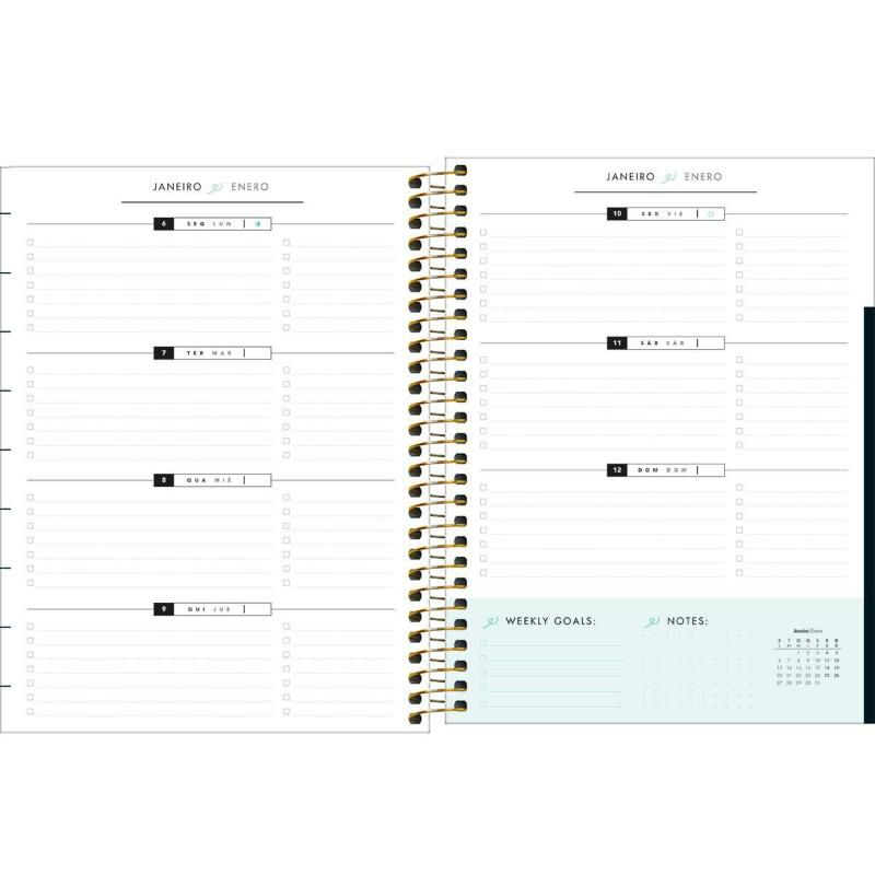Planner 2020 TILIBRA West Village 177 x 240 mm