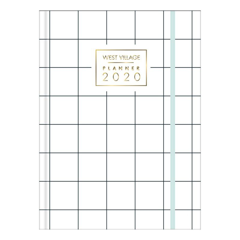 Planner 2020 TILIBRA West Village Costurada 135 x 192 mm