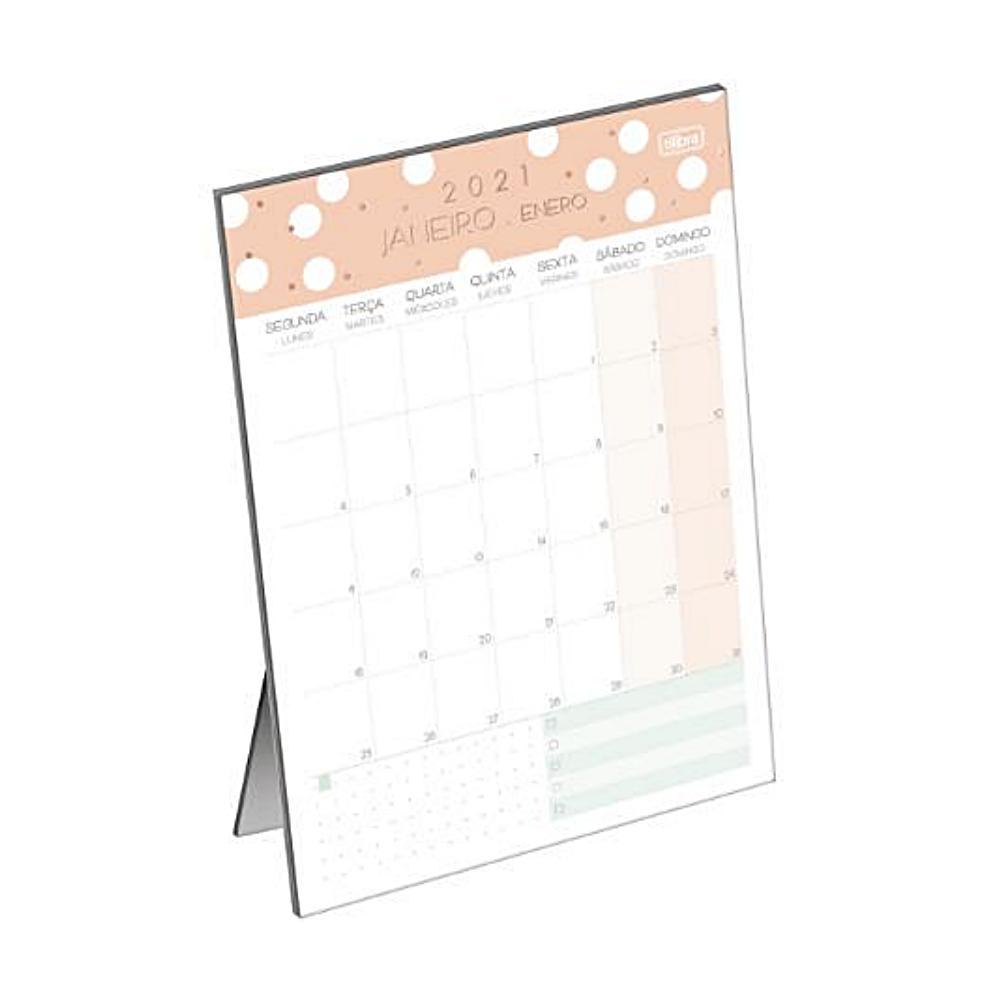 Planner 2021 Calendário de Mesa TILIBRA Soho
