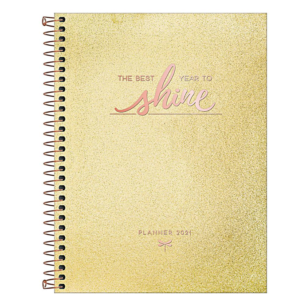 Planner 2021 TILIBRA Cambridge Shine Espiral 177 x 240 mm