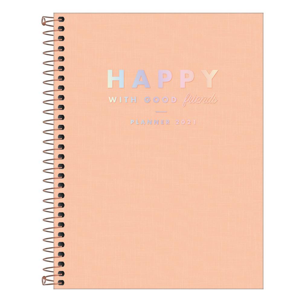 Planner 2021 TILIBRA Espiral Happy