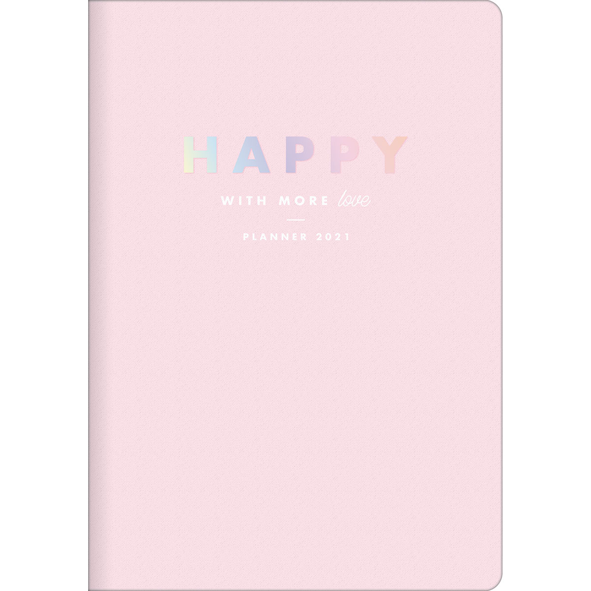 Planner 2021 TILIBRA Happy Grampeado 178 x 254 mm
