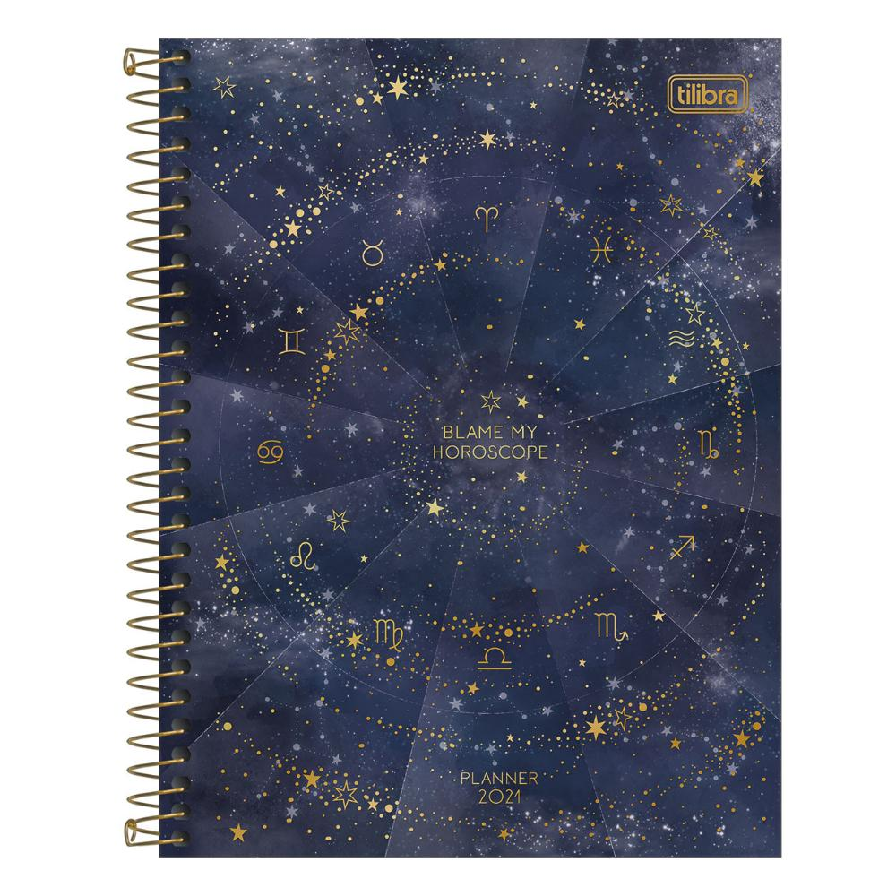 Planner 2021 TILIBRA Magic Espiral 177 x 240 mm