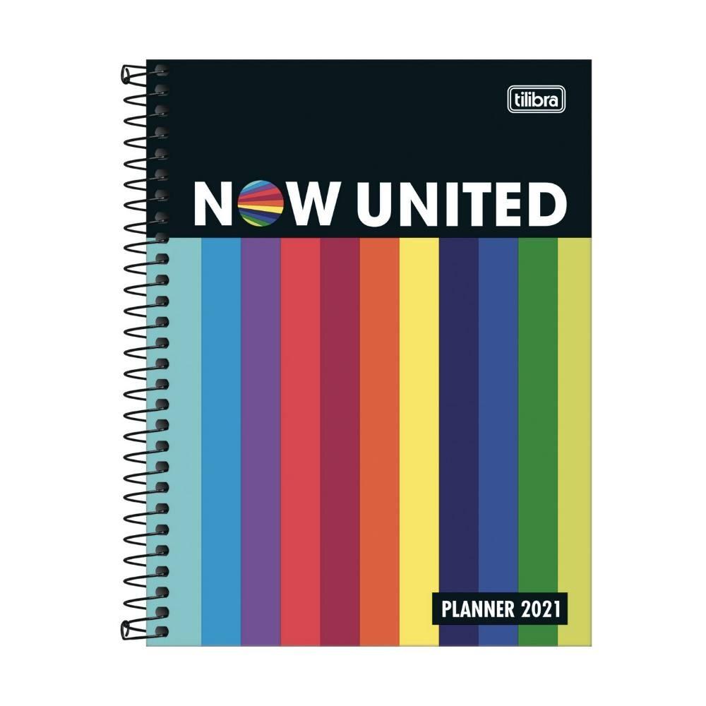 Planner 2021 TILIBRA Now United Espiral 177 x 240 mm