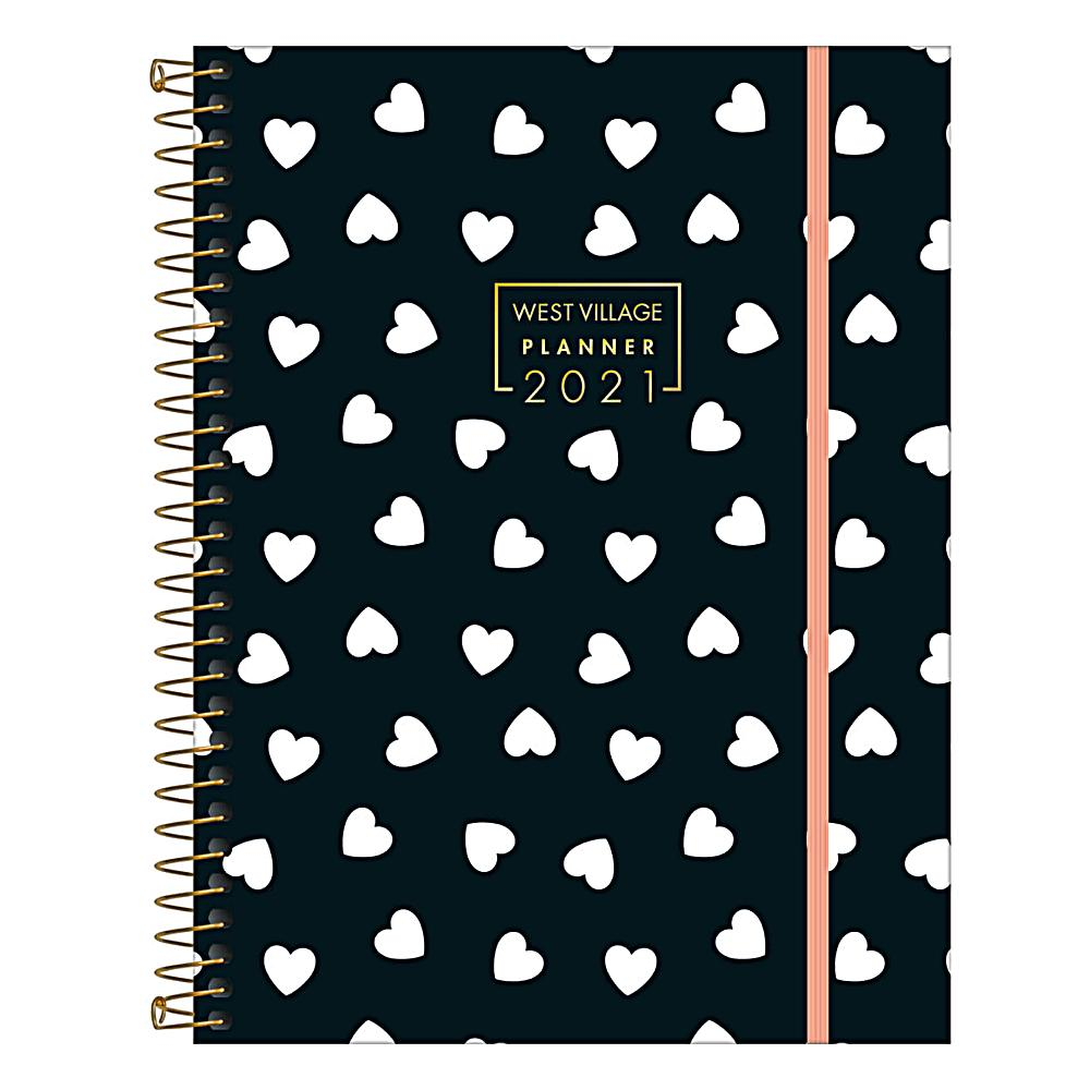Planner 2021 TILIBRA West Village 177 x 240 mm