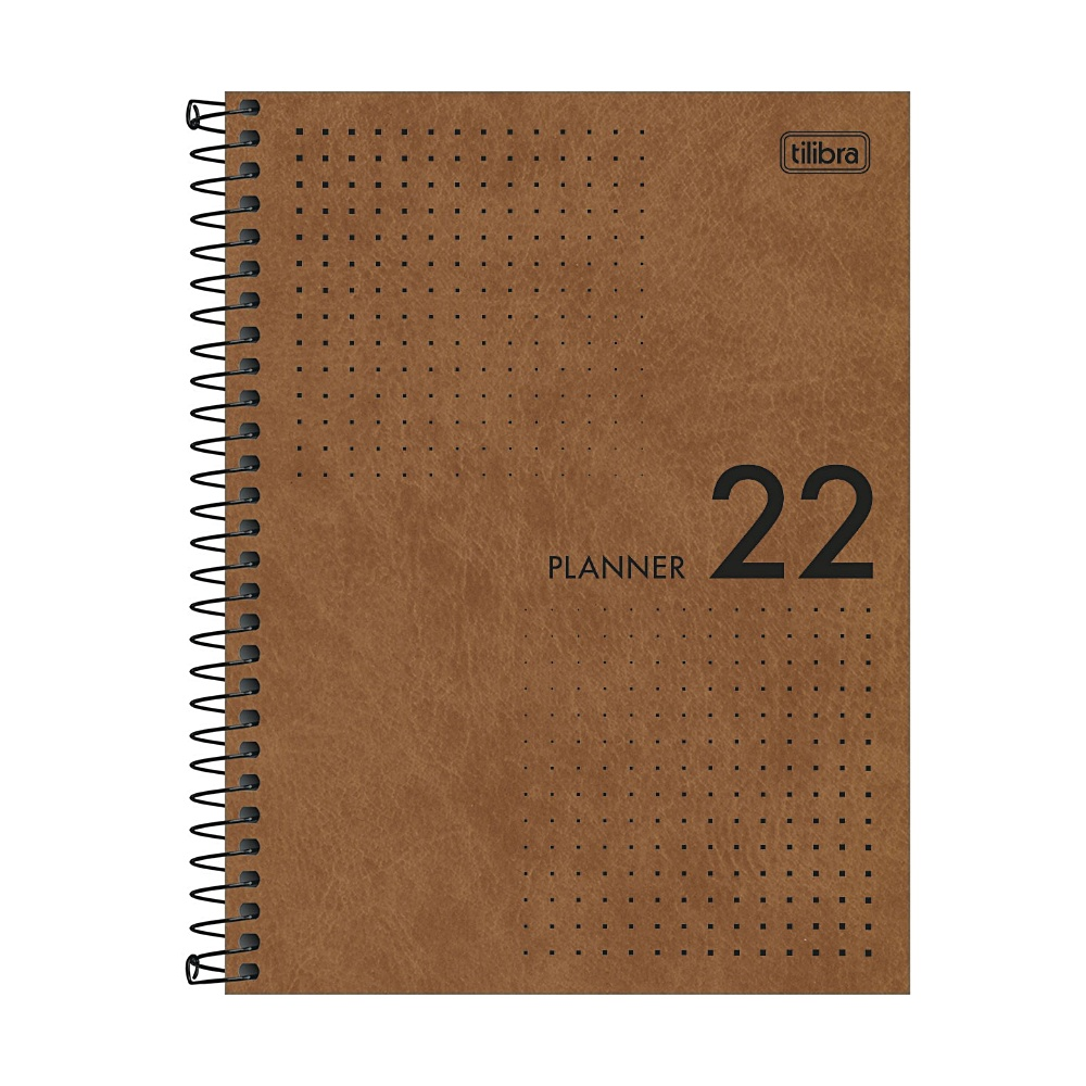 Planner 2022 TILIBRA Prátika Espiral 17,7 x 24 cm