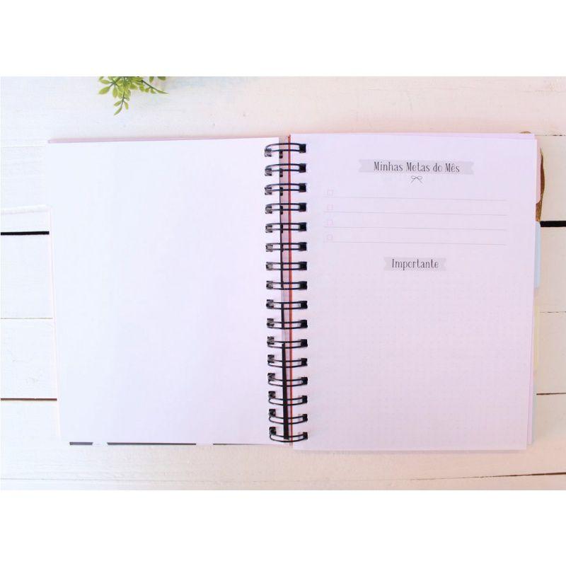 Planner Agenda PAPELOTE Permanente c/ 192 Páginas