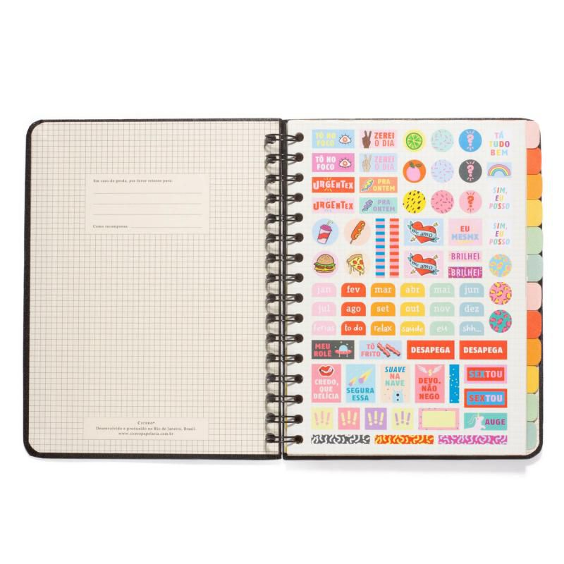 Planner CÍCERO Wire-o Semanal